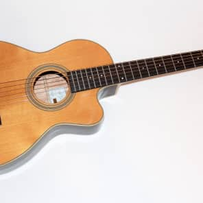 Recording King RP1-16C Torrefied Red Spruce Top 12-Fret Single-0 with Cutaway