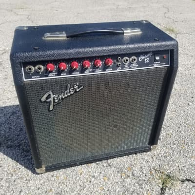 Fender Champ 12 Guitar Amplifier Red Knob Recently Serviced for sale