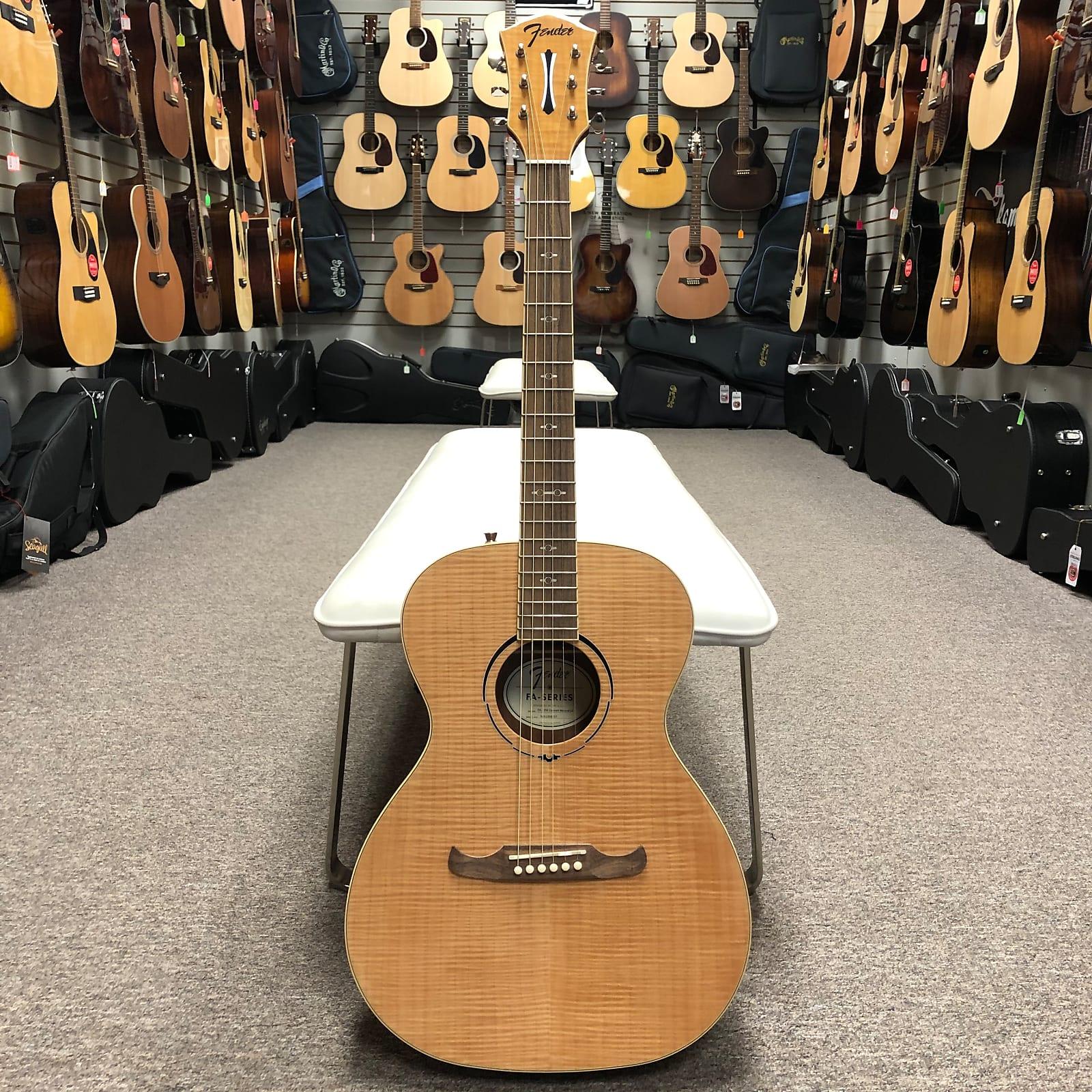 Fender FA-235E Concert Acoustic/Electric Guitar - Natural