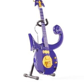 Axe Heaven Purple Symbol 1/4 scale Miniature Collectible Guitar - PR-285