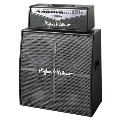 """Hughes & Kettner Vortex 2-Channel 100-Watt 4x12"""" Solid State Guitar Amp Half Stack"""