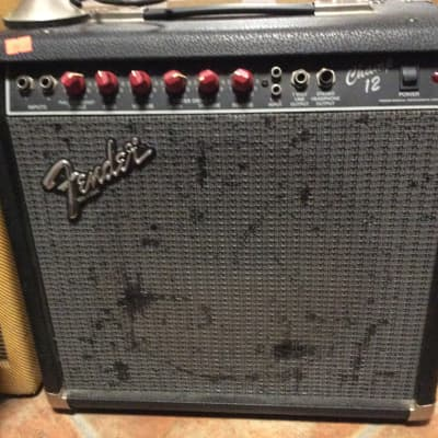 Fender Champ 12 red knobs Natural for sale