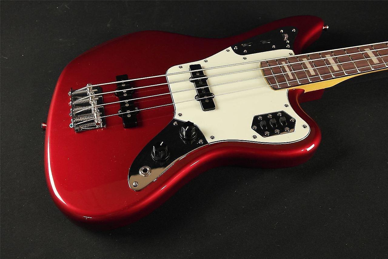 fender american standard jaguar bass mystic red 2016 reverb. Black Bedroom Furniture Sets. Home Design Ideas