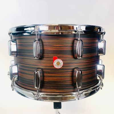 """Barton Beech 14X8 """"Concert"""" Snare Drum - Rosewood"""