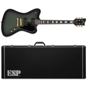 ESP LTD Sparrowhawk Bill Kelliher Military Green Sunburst Satin NEW Electric Guitar + Hardshell Case for sale