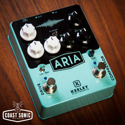 Keeley Aria Compressor Overdrive image