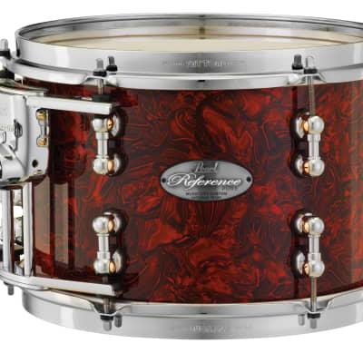 "Pearl Music City Custom 13""x11"" Reference Pure Series Tom Drum RFP1311T - Burnt Orange Abalone"