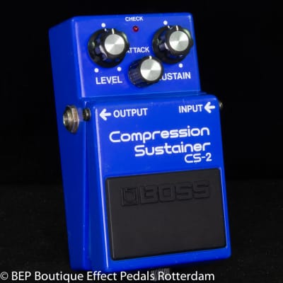 Boss CS-2 Compression Sustainer 1984 Japan s/n 497900 as used by David Gilmour, Josh Klinghoffer