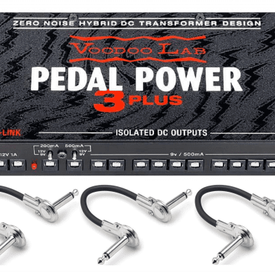 New Voodoo Lab Pedal Power 3 Plus PP3P Guitar Effects Pedal Power Supply