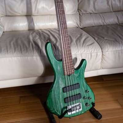 Roscoe  Standard 5 Bass 2015 Green for sale