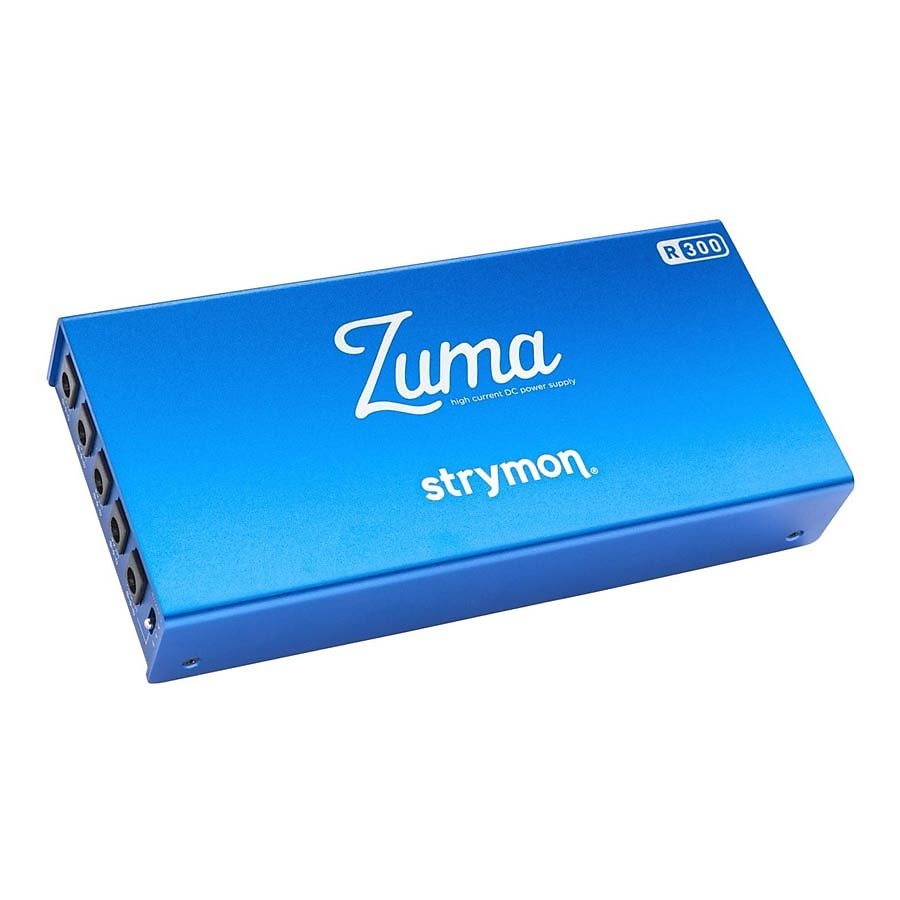 Strymon Zuma R300 5 Output Ultra Low Profile High Current Dc Reverb Power Supply