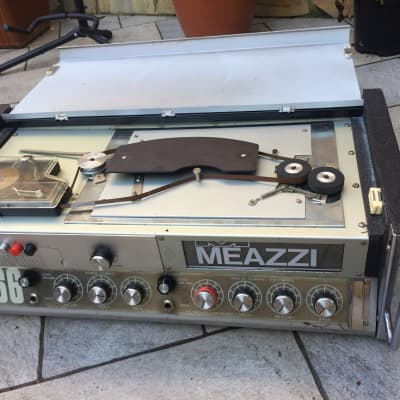 Meazzi Guitar Head Amplifier 666 Vintage Analog Tape Echo Western Sound for sale
