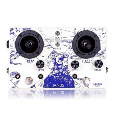 Walrus Audio Janus Tremolo/Fuzz Pedal with Joystick Trem Fuzz for sale