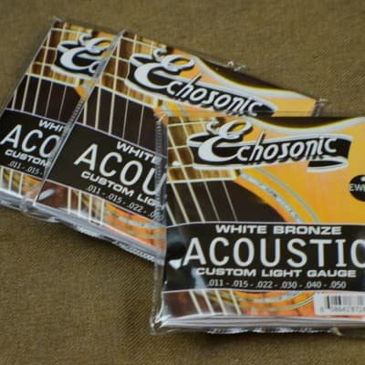 Echosonic EWB-11 Acoustic Guitar Strings for sale