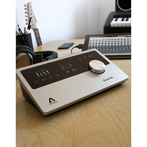 apogee apogee quartet 4x8 usb audio interface for ipad reverb. Black Bedroom Furniture Sets. Home Design Ideas