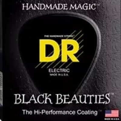 DR BKB-40 Black Beauties Coated Steel Medium Bass Strings, -040-.100