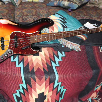 Fender Jazz Bass Roadworn 2009 Sunburst for sale
