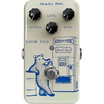 Animals ROVER FUZZ Fuzz Pedal Designed by Skreddy Pedals