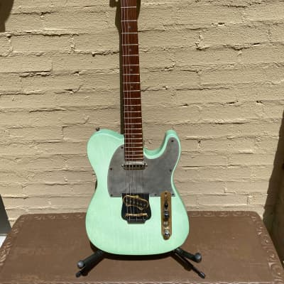 M Tone TKO Tele Mint Green ( M-Tone ) for sale