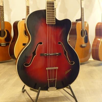 Tellson Archtop Redburst (60's) for sale