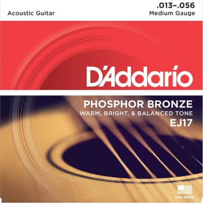 D'Addario EJ17 Phosphor Bronze Acoustic Guitar Strings - Medium Gauge