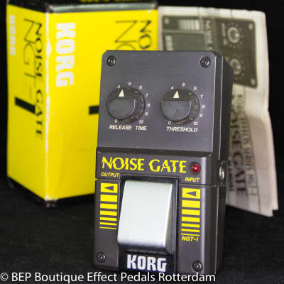 Korg NGT-1 Noise Gate early 80's Japan s/n 000103