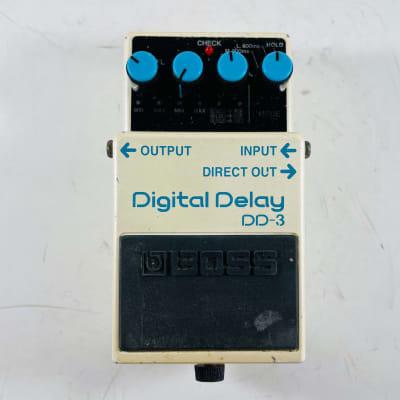 Boss DD-3(b) Digital Delay 2001 - 2019 White *Sustainably Shipped*