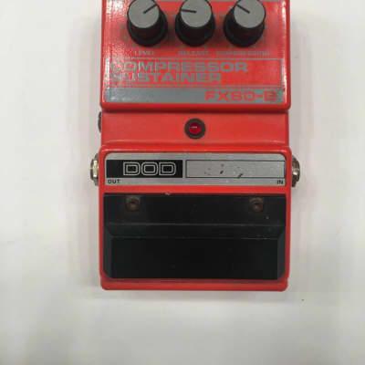 DOD Digitech FX80B Compressor Sustainer Rare Vintage Guitar Effect Pedal