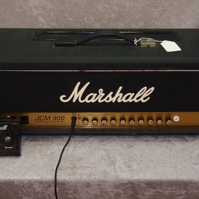Marshall JCM 900 Model 4100 100 watt Hi Gain Dual Reverb all tube head image