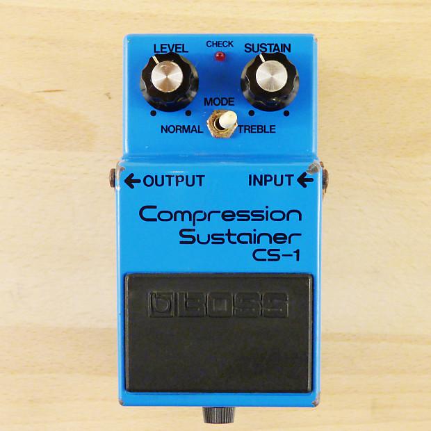 Japanese Guitar Effects : 1981 boss cs 1 compression sustainer mij vintage japanese reverb ~ Hamham.info Haus und Dekorationen