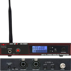 Galaxy Audio AS-1100 Any Spot Wireless Personal Monitor System - L Band (655-679 MHz)