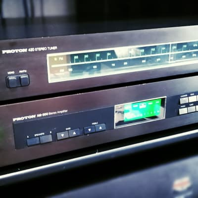 Proton Amplifier am-300 With Tuner. Rare Power On Demand. Analog Style Tuner.