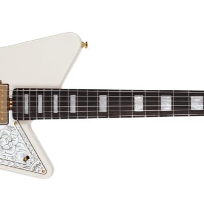 Ernie Ball Music Man Mariposa Signature Electric Guitar Imperial White for sale