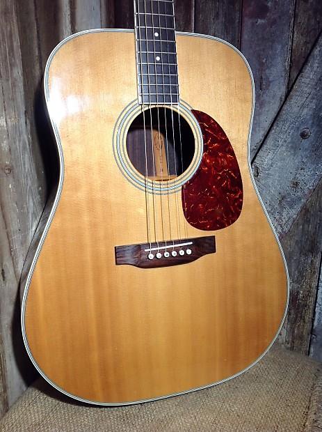 vintage sigma d 35 acoustic guitar reverb. Black Bedroom Furniture Sets. Home Design Ideas