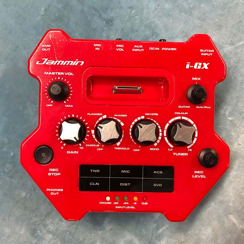 Jammin' Pro i-GX Guitar Effects Processor / iPod Player / Recorder w/ Box
