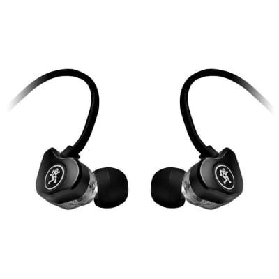 Mackie Professional Fit Earphones With Mic And Control
