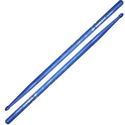 Zildjian #Z5ABU -  5A Blue Drumsticks