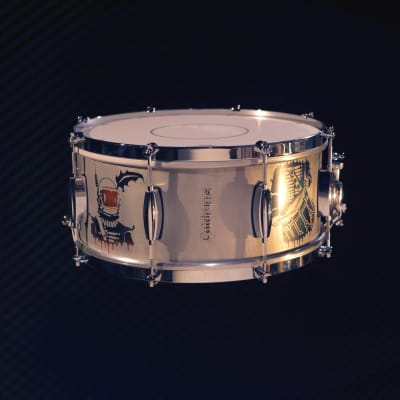 "Catdrums 6.5 x 14"" Power Cat (alluminium shell)"