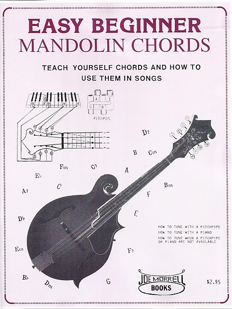 Easy Beginner Mandolin Chords Teach Yourself Chords And How Reverb