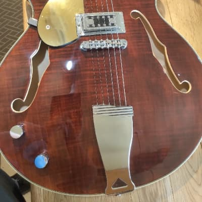 used Eastwood Lefthanded Hollow-Body Electric Guitar
