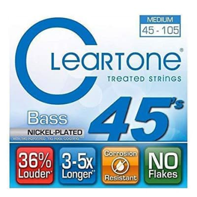Cleartone Bass Strings 45-105