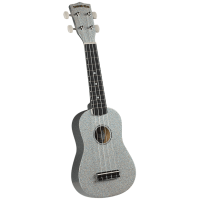 Diamond Head Hot Rod Series Ukulele - Cadillac Chrome for sale