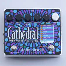 Electro-Harmonix Cathedral Reverb Guitar Effects Pedal P-05330