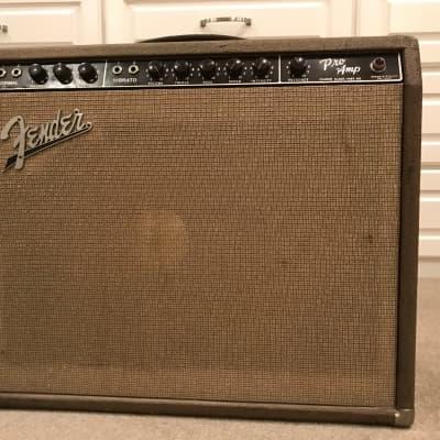 Fender Pro 1962 Brown face