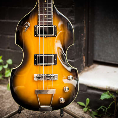 Duesenberg Violin Bass 2016 sunburst for sale