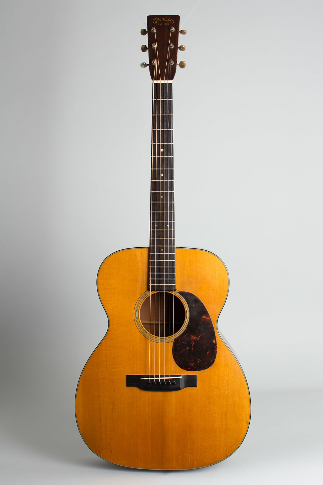 C. F. Martin 000-18 Flat Top Acoustic Guitar 1941 Natural Lacquer
