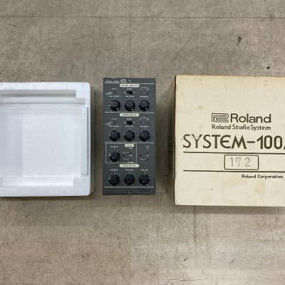 Rare ! Boxed Roland System 100M Module 172 Phase Shifter serviced !