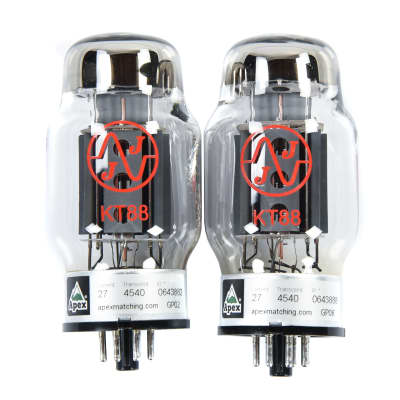 JJ Electronic KT88 Power Tube Apex Matched Pair