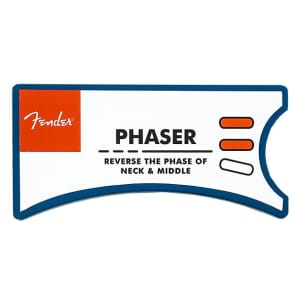 Fender 099-0855-000 Phaser SSS Personality Card