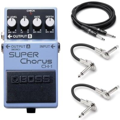 New Boss CH-1 Super Chorus Guitar Effects Pedal!